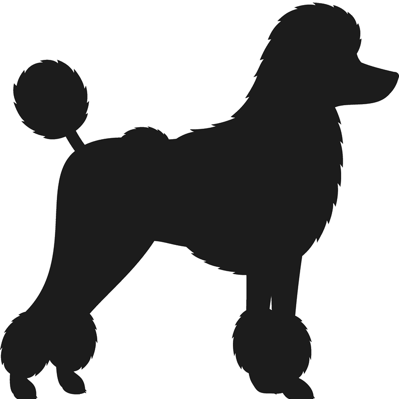 Poodle dog clipart graphic freeuse library Toy Poodle Silhouette at GetDrawings.com | Free for personal use Toy ... graphic freeuse library
