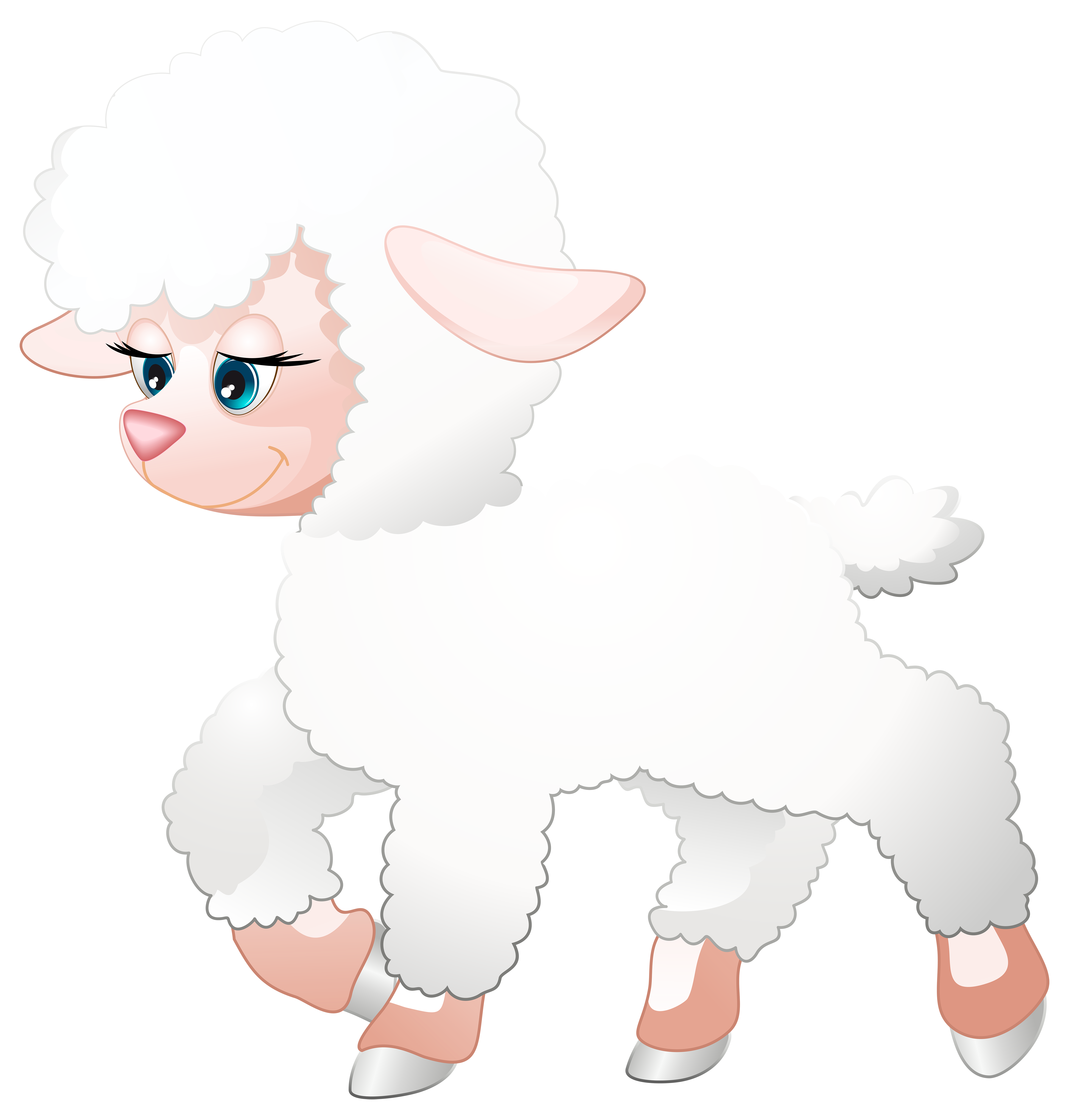 Poodle dog clipart jpg stock Cute Lamb Transparent PNG Clip Art Image | Gallery Yopriceville ... jpg stock