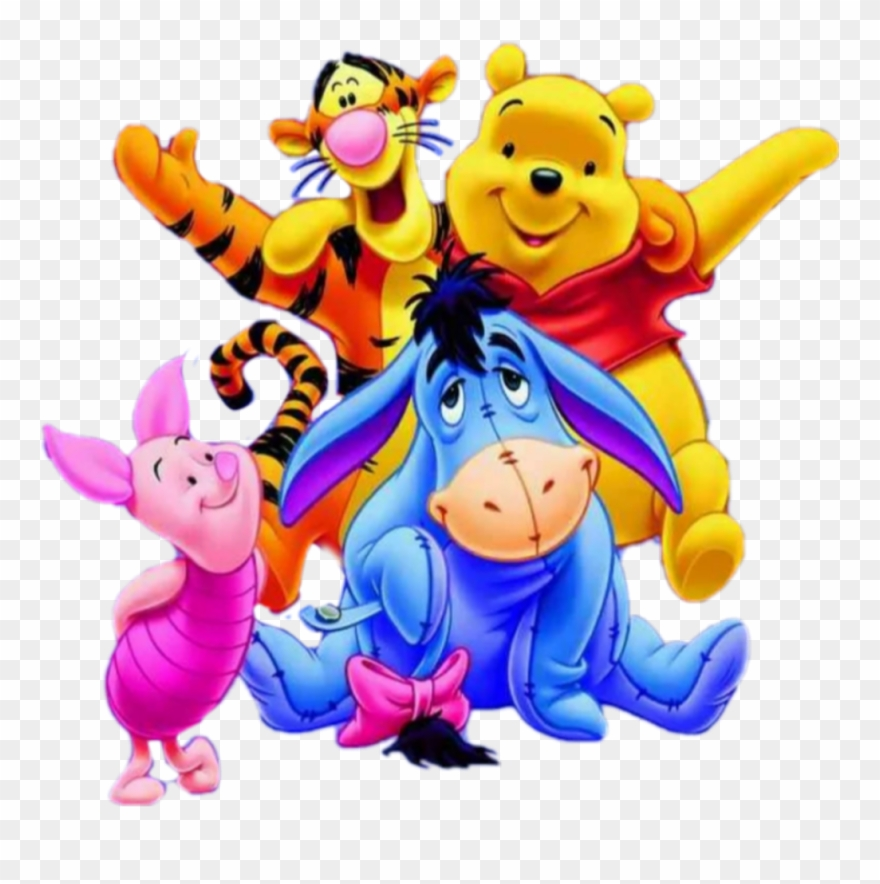 Winnie the pooh and friends clipart clip black and white download pooh #bear #poohbear #poohandfriends #winnie #winniethepooh ... clip black and white download