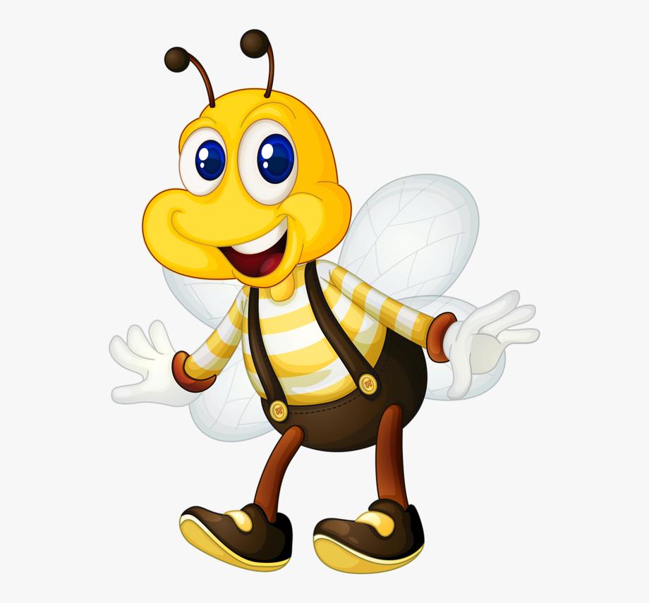 Pooh bear honey bee clipart no background vector free stock Cute Honey Bee Clipart , Transparent Cartoon, Free Cliparts ... vector free stock