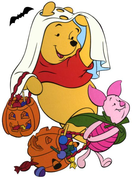 Pooh halloween clipart image free stock disney halloween | Disney Winnie the Pooh & Piglet Halloween ... image free stock