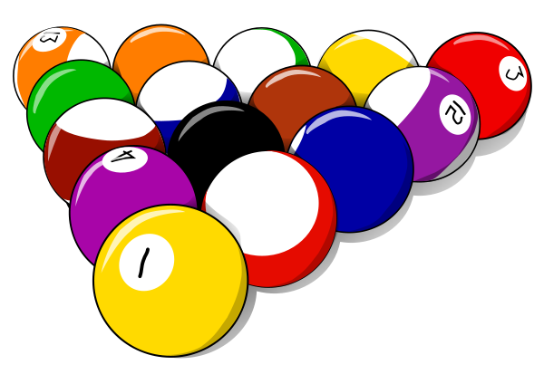 Pool rack clipart clipart library download 15 pool ball rack   CLIP ART FOUR   Pool images, Free ... clipart library download