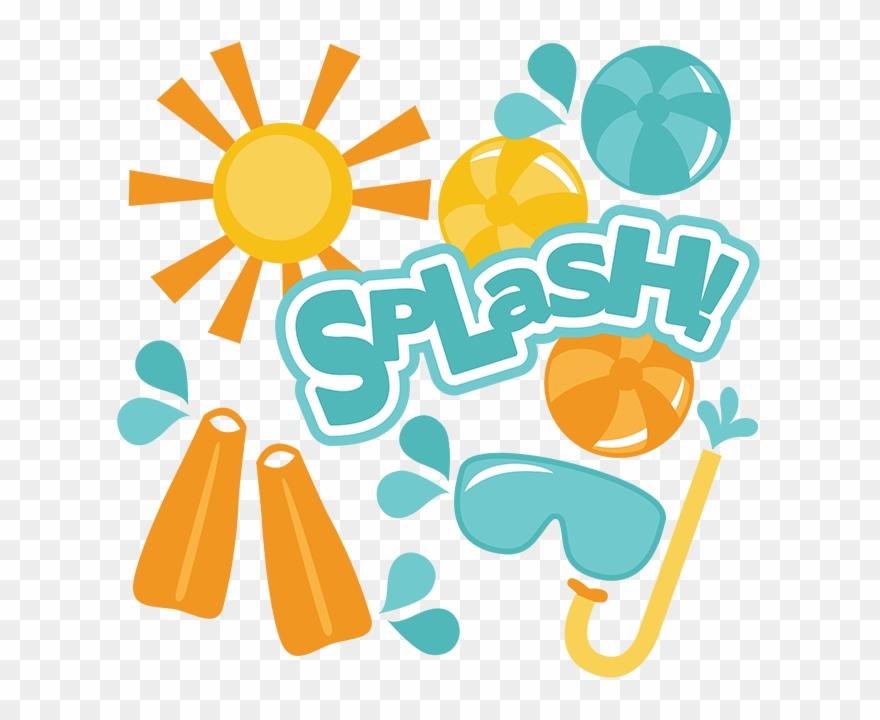 Pool splash clipart clip library Clip Art Of Splash - Pool Day Clip Art - Png Download ... clip library