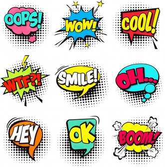 Pop art clipart free image black and white download Pop Art Vectors, Photos and PSD files | Free Download image black and white download