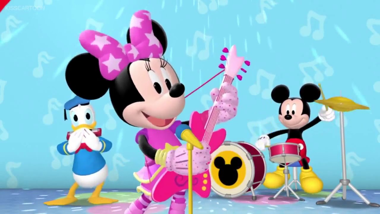 Pop star minnie clipart banner royalty free Mickey Mouse Clubhouse S05E16 - Minnie Special - Pop Star Minnie - garcia  himber - zMickz Part 12 banner royalty free