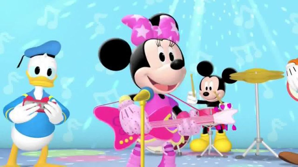 Pop star minnie clipart clipart freeuse download Mickey Mouse Clubhouse: Pop Star Minnie DVD TV Commercial, \'Disney Junior\'  - Video clipart freeuse download