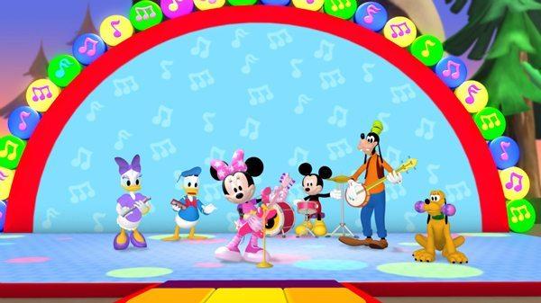 Pop star minnie clipart clip Pop Star Minnie, Fun for the Kiddies on DVD - ACED Magazine clip