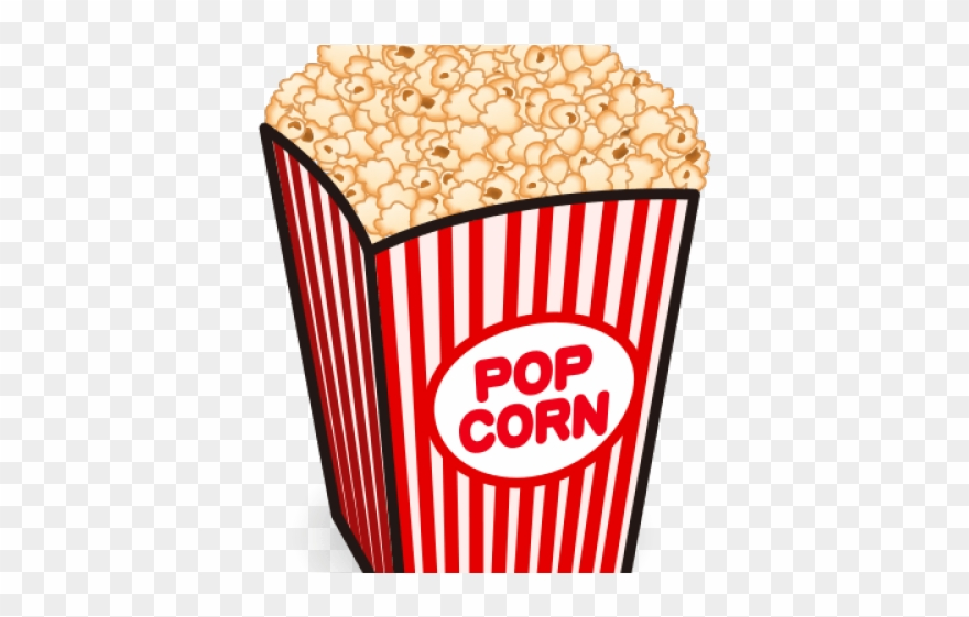 Popcorn background clipart graphic download Clear Background Popcorn Clip Art - Png Download (#578757 ... graphic download