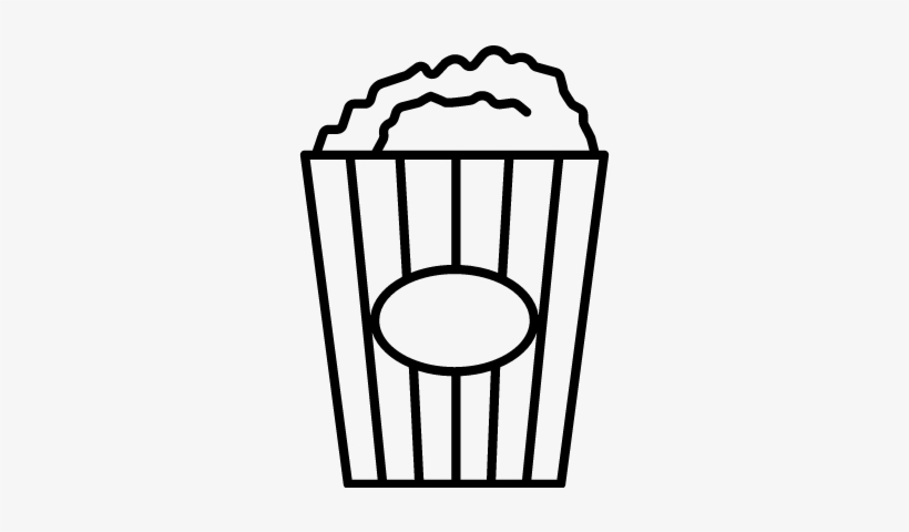 Popcorn black and white clipart jpg library download Popcorn Box Vector - Popcorn Clip Art Black And White ... jpg library download