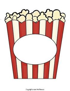 Popcorn container clipart clip art black and white stock Popcorn container clipart - Clip Art Library clip art black and white stock