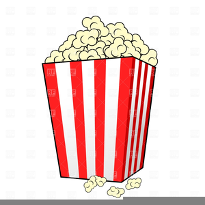 Popcorn container clipart banner black and white library Popcorn Container Clipart | Free Images at Clker.com ... banner black and white library