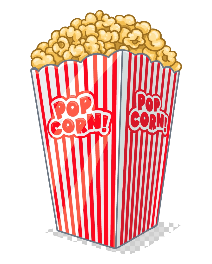 Popcorn images clipart vector black and white library Popcorn Clipart Tv And Transparent Background Clip Art Png ... vector black and white library