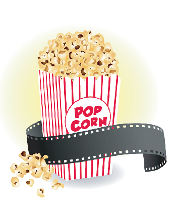 Popcorn movie clipart png Movie With Popcorn Clipart The Arts Image Pbs Learningmedia png