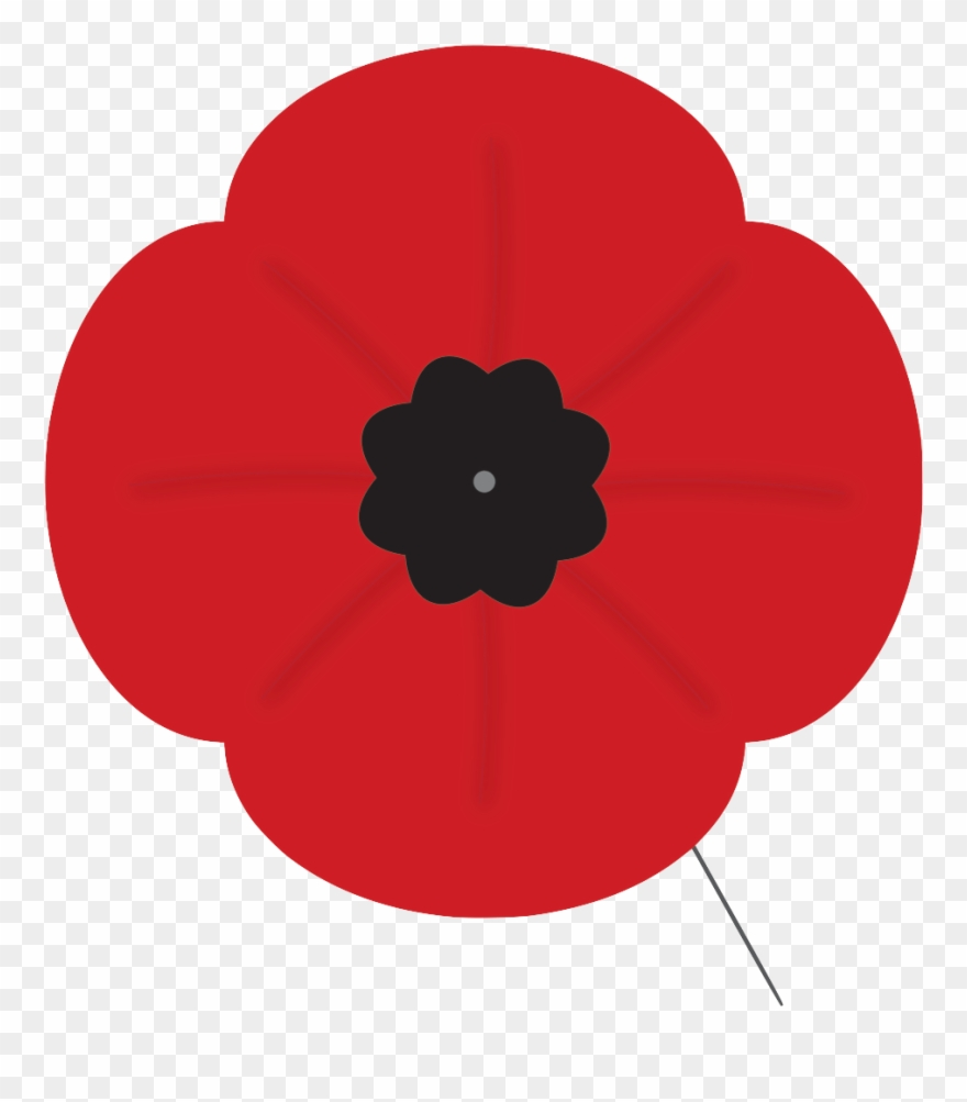 Poppy clipart remembrance day clip royalty free Clip Art Remembrance Day Poppy - Png Download (#2127861 ... clip royalty free
