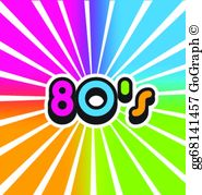 Popular 80s clipart png royalty free download 80S Clip Art - Royalty Free - GoGraph png royalty free download