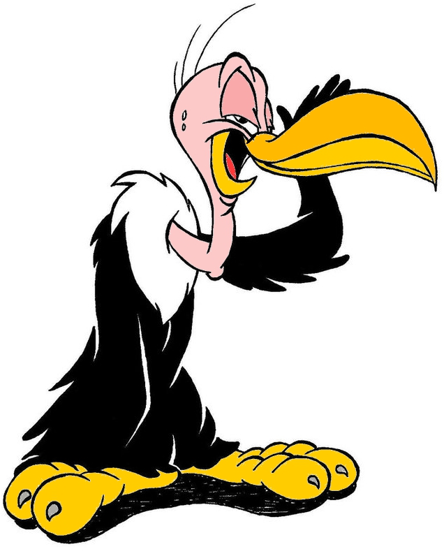 Popular cartoon character clipart svg royalty free stock Cartoon Vulture Images | Free Download Clip Art | Free Clip Art ... svg royalty free stock