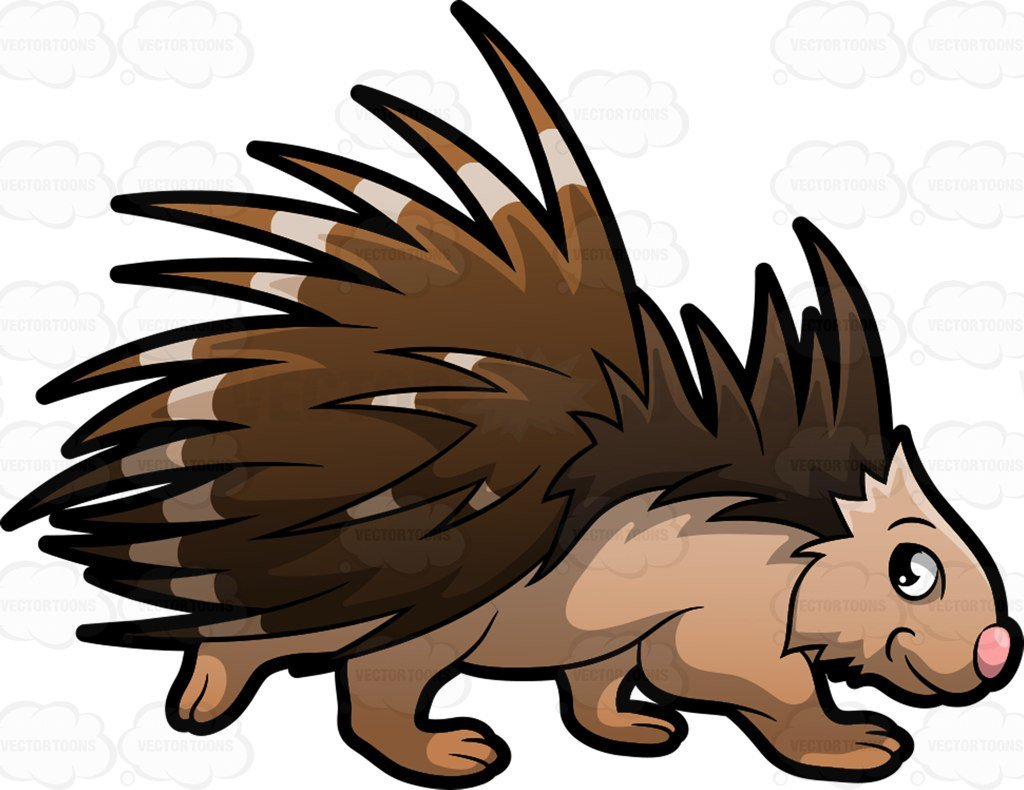Porcuppine clipart clipart free stock Cartoon porcupine clipart 1 » Clipart Portal clipart free stock