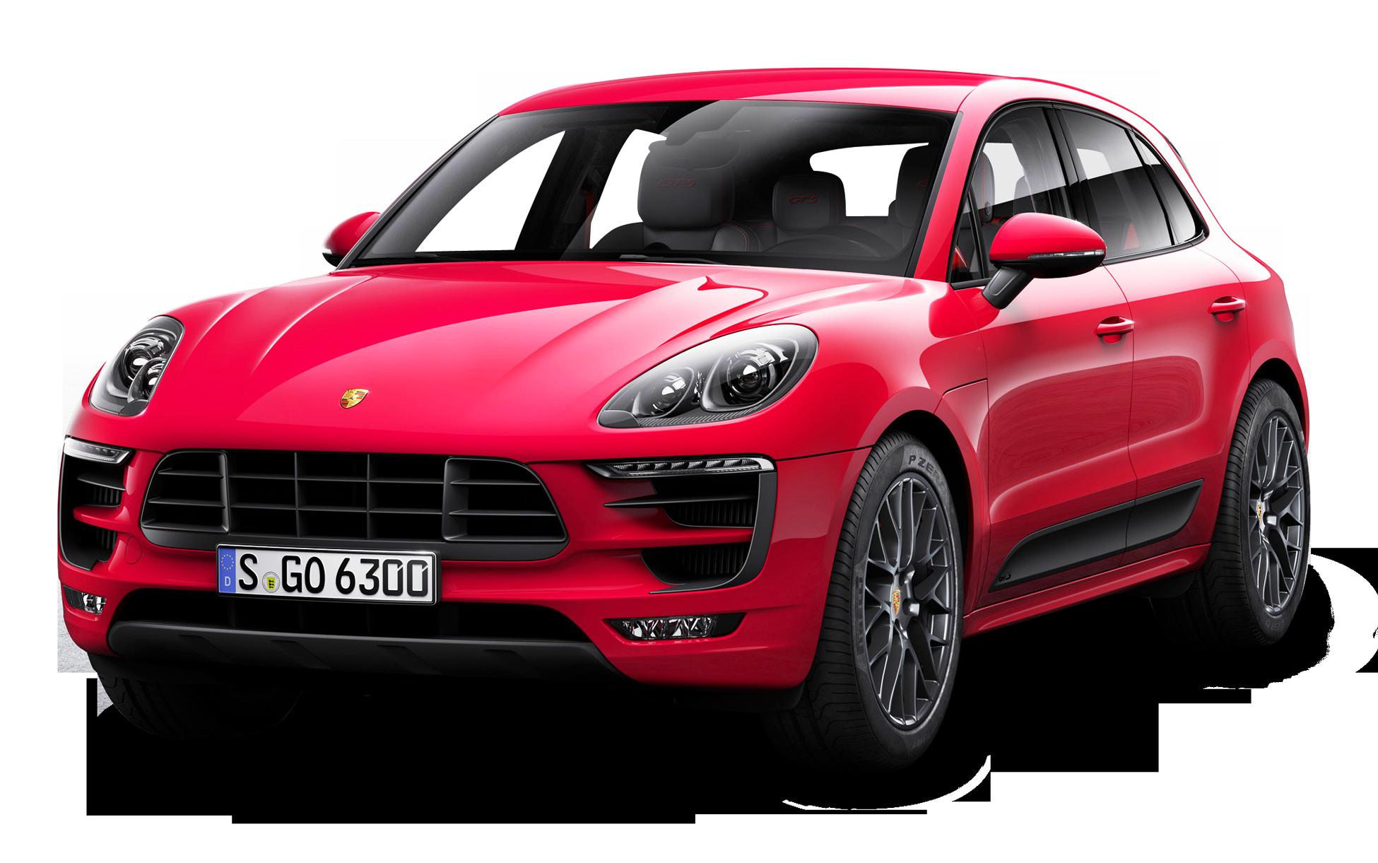 Porsche macan clipart clipart transparent stock Red Porsche Macan GTS Car PNG Image - PurePNG | Free ... clipart transparent stock
