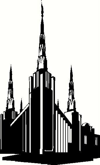 Portland temple clipart graphic freeuse download Oregon Portland Temple graphic freeuse download