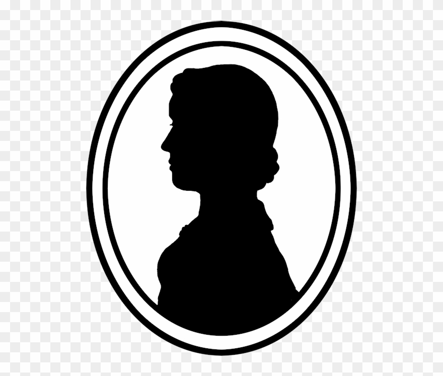 Portrail clipart jpg library download Image Library Download Silhouette Portrait Frame At - Male ... jpg library download