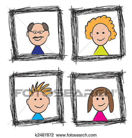 Portrail clipart clip art black and white download Portrait Clipart (94+ images in Collection) Page 2 clip art black and white download