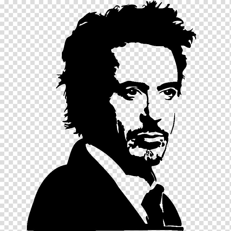 Portrait art clipart picture stock Robert Downey Jr. Drawing Portrait Art Sketch, robert downey ... picture stock