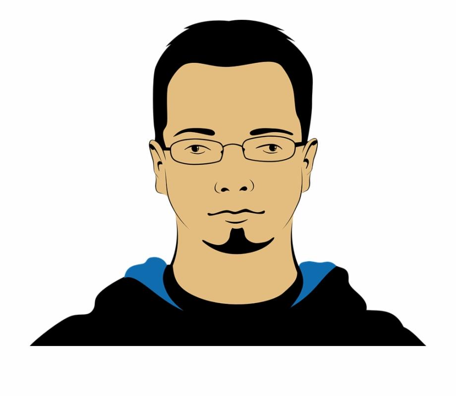 Portrait clipart png stock Man, Person, Avatar, Face, Head, Portrait, Glasses - Avatar ... png stock