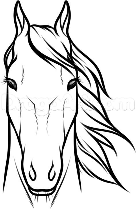 Portrait of horse head peeking out of vintage truck clipart png royalty free download easy how to draw a horse head step by step - Yahoo Image ... png royalty free download