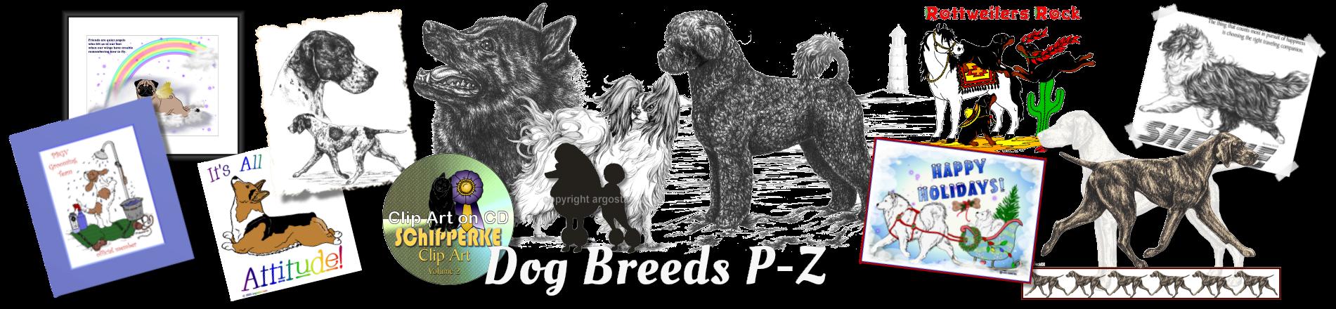 Portuguese water dog clipart jpg download Dog Store - Shop Dog Breeds P-Z shirts, clipart, prints, notecards ... jpg download