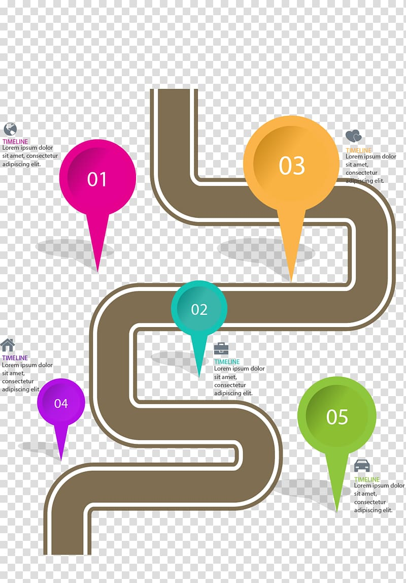 Positioning clipart svg freeuse Road Infographic, painted road positioning transparent ... svg freeuse