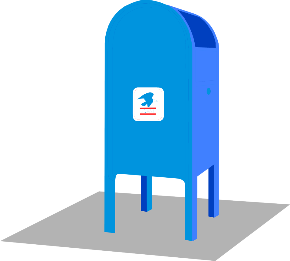 Post office drop box clipart picture library Post Office Building Clipart   Free download best Post ... picture library