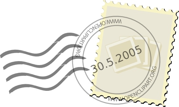 Stamp vector clipart clipart royalty free download Postage Stamp clip art Free vector in Open office drawing ... clipart royalty free download