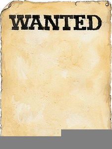 Poster clipart free picture download Blank Wanted Poster Clipart | Free Images at Clker.com ... picture download