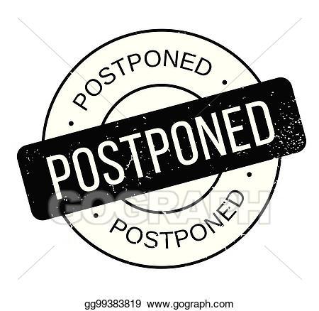 Postpone clipart free download EPS Vector - Postponed rubber stamp. Stock Clipart ... free download