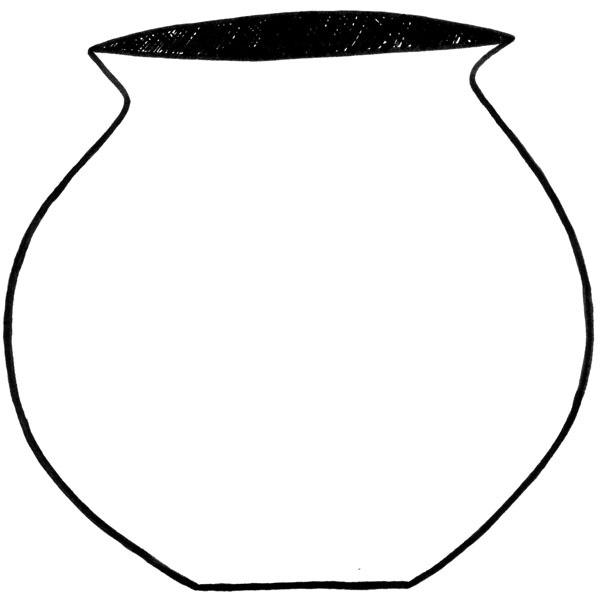 Pot black and white clipart png free download Free White Pot Cliparts, Download Free Clip Art, Free Clip ... png free download