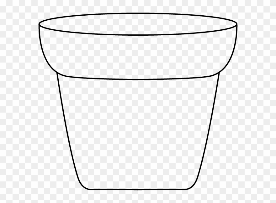 Pot black and white clipart picture transparent download Plants Owl Standing Graphics Jpg Freeuse - Flower Pot Black ... picture transparent download