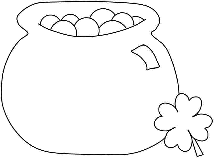 Pot o gold clipart black and white free vector transparent library Free Pictures Of A Pot Of Gold, Download Free Clip Art, Free ... vector transparent library