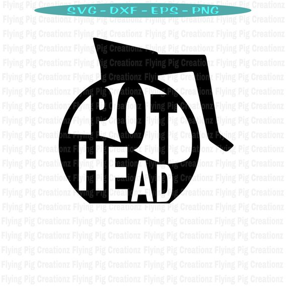 Pothead clipart clip Pot Head SVG, Pothead svg, But First Coffee svg, Coffee svg ... clip