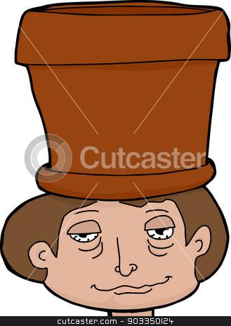 Pothead clipart svg transparent stock Pot Head stock vector svg transparent stock