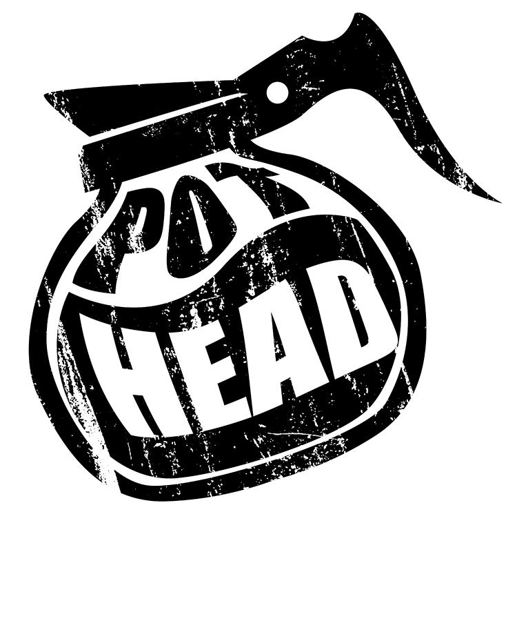 Pothead clipart png free Pot Head Coffee Pot For Coffee Lovers by Hope and Hobby png free