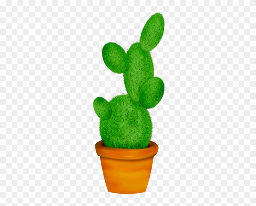 Potted cactus clipart svg black and white stock Potted Cactus * Home Clipart, Cactus Vector, Leaf Template ... svg black and white stock