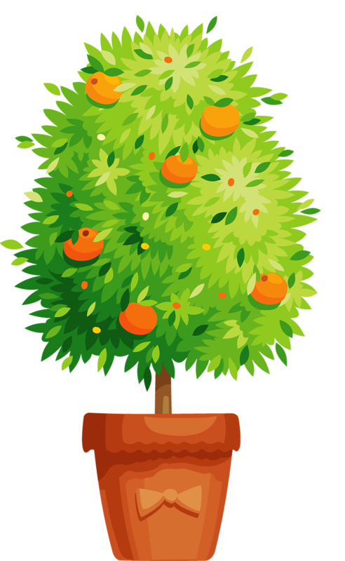 Potted tree clipart png freeuse flower pot 14.png | Tree | Pinterest | Flower, Clip art and Flower ... png freeuse