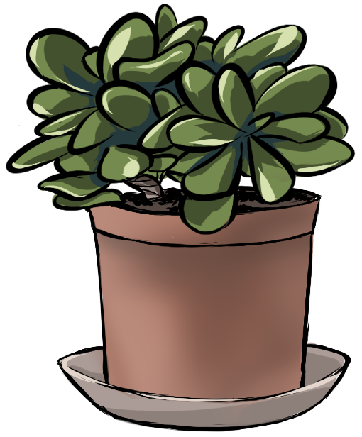Potted tree clipart image black and white stock May 29th - Botanical Illustration : SketchDaily image black and white stock