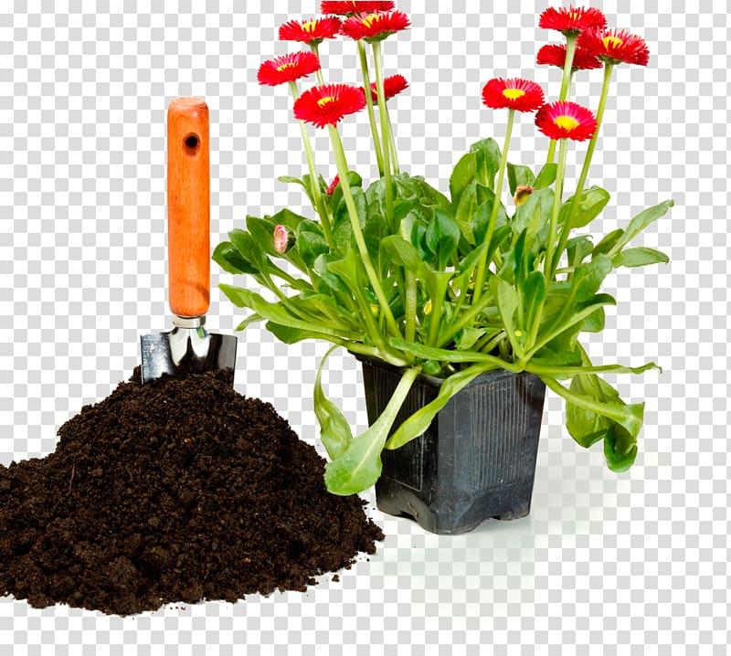 Potting soil clipart jpg free Flowerpot Window box Potting soil , flower transparent ... jpg free