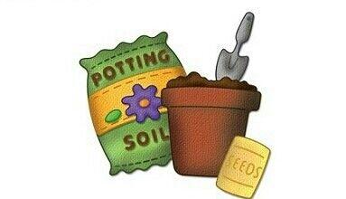 Potting soil clipart jpg library stock Pin by Mary Carol on Graphics - Garden/Farm   Potting soil ... jpg library stock