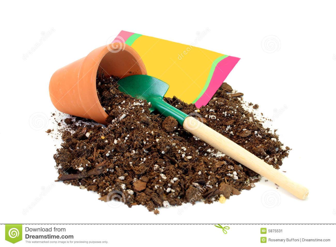 Potting soil clipart clip stock Pot Plant Clipart Potting Soil Pencil And In Color Pot ... clip stock