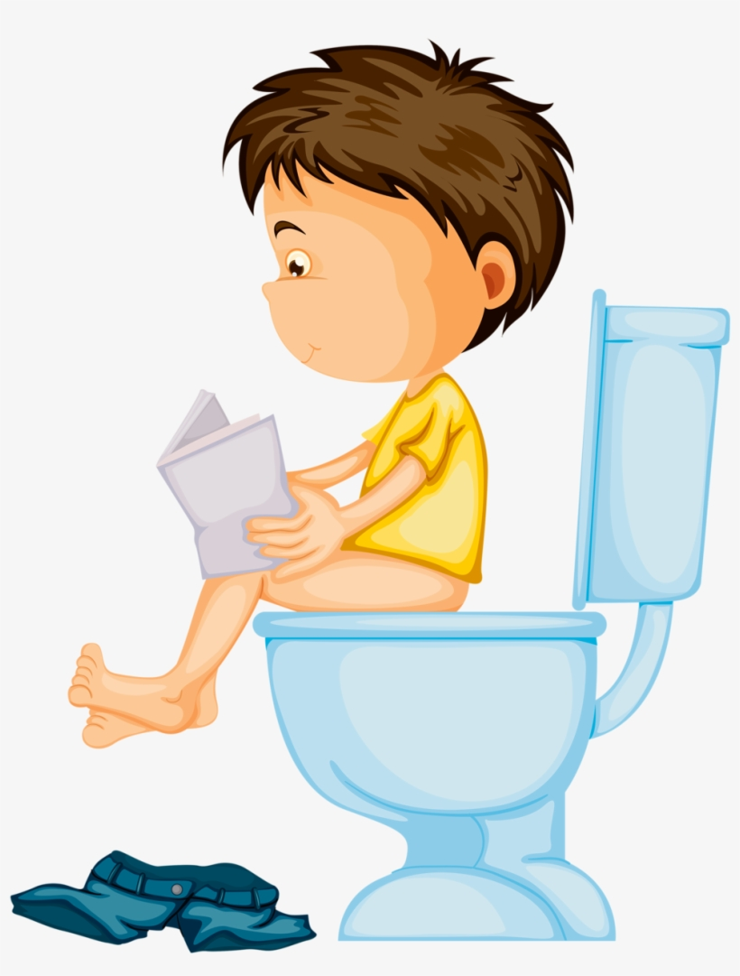 Boys potty clipart black and white stock Clipart Kid Bathroom - Boy Potty Training Clipart ... black and white stock