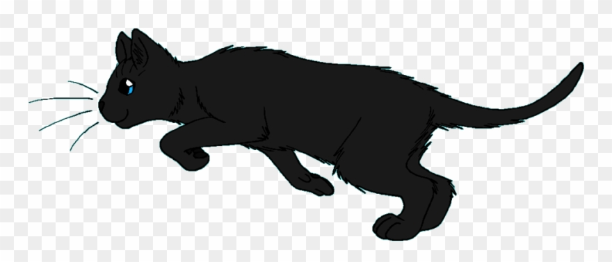 Pouncing clipart clipart free Cat Pouncing Clipart - Warrior Cats Rooktail - Png Download ... clipart free