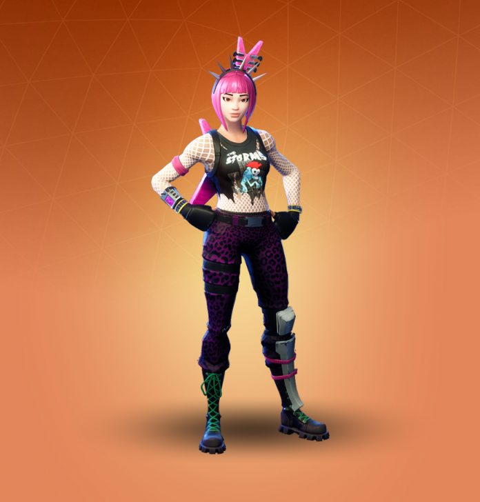 Power chord fortnite clipart svg black and white library Power Chord Fortnite Outfit Skin How to Get + History ... svg black and white library