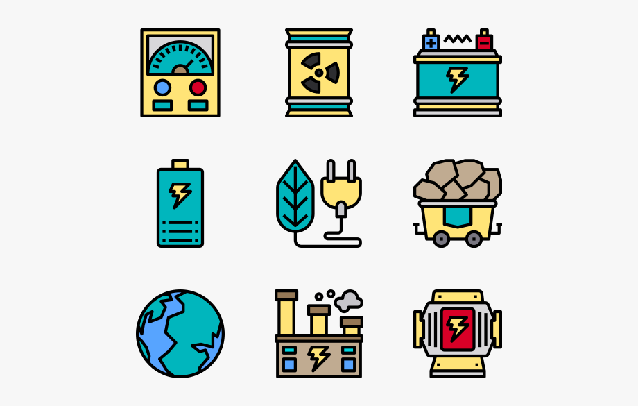 Power energy clipart vector royalty free download Power Energy - E Learning Icons Png #274558 - Free Cliparts ... vector royalty free download